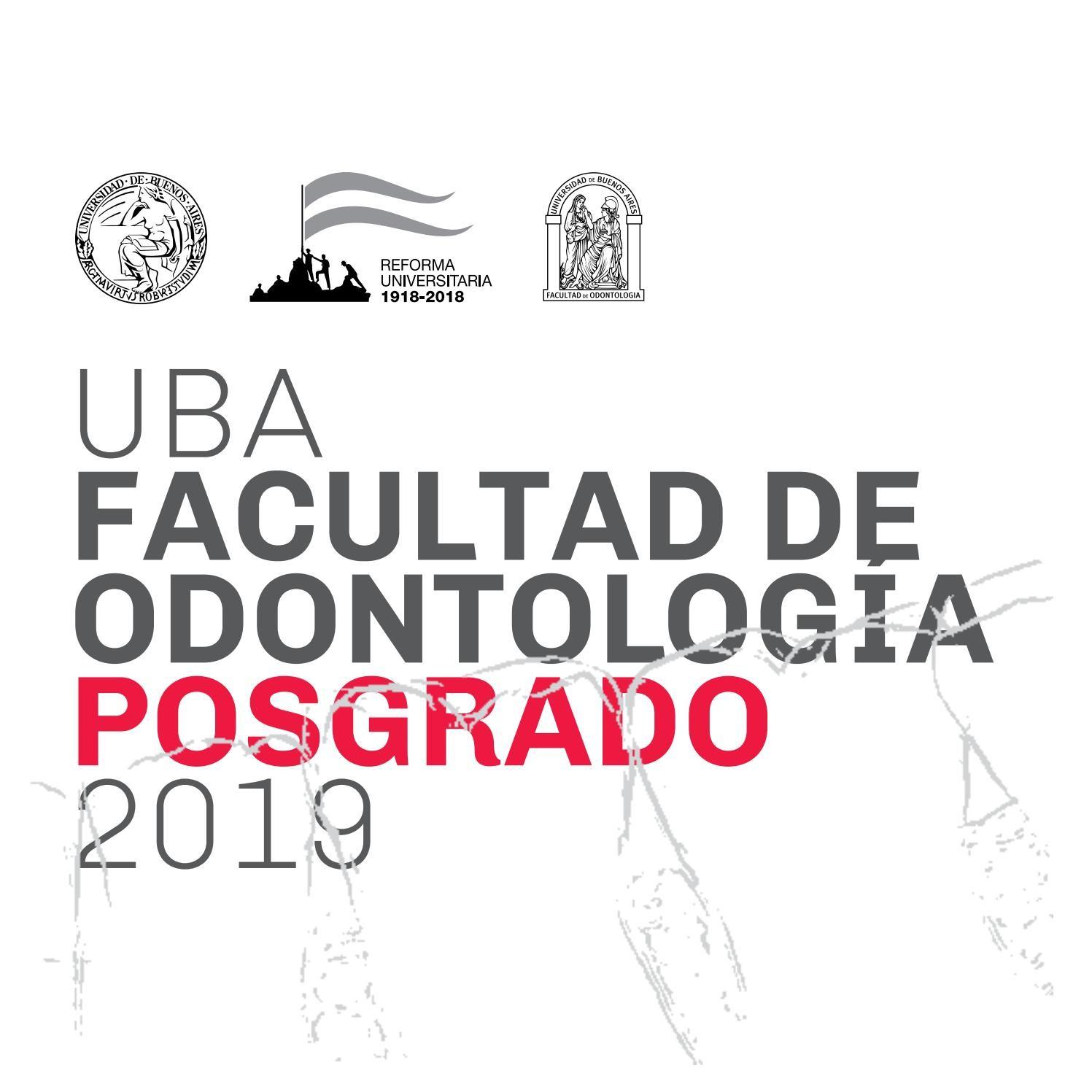 Calendario Escolar 2019 Argentina Buenos Aires Más Recientemente Liberado Libro Uba Facultad De Odontologa Posgrado 2019 by Marral issuu