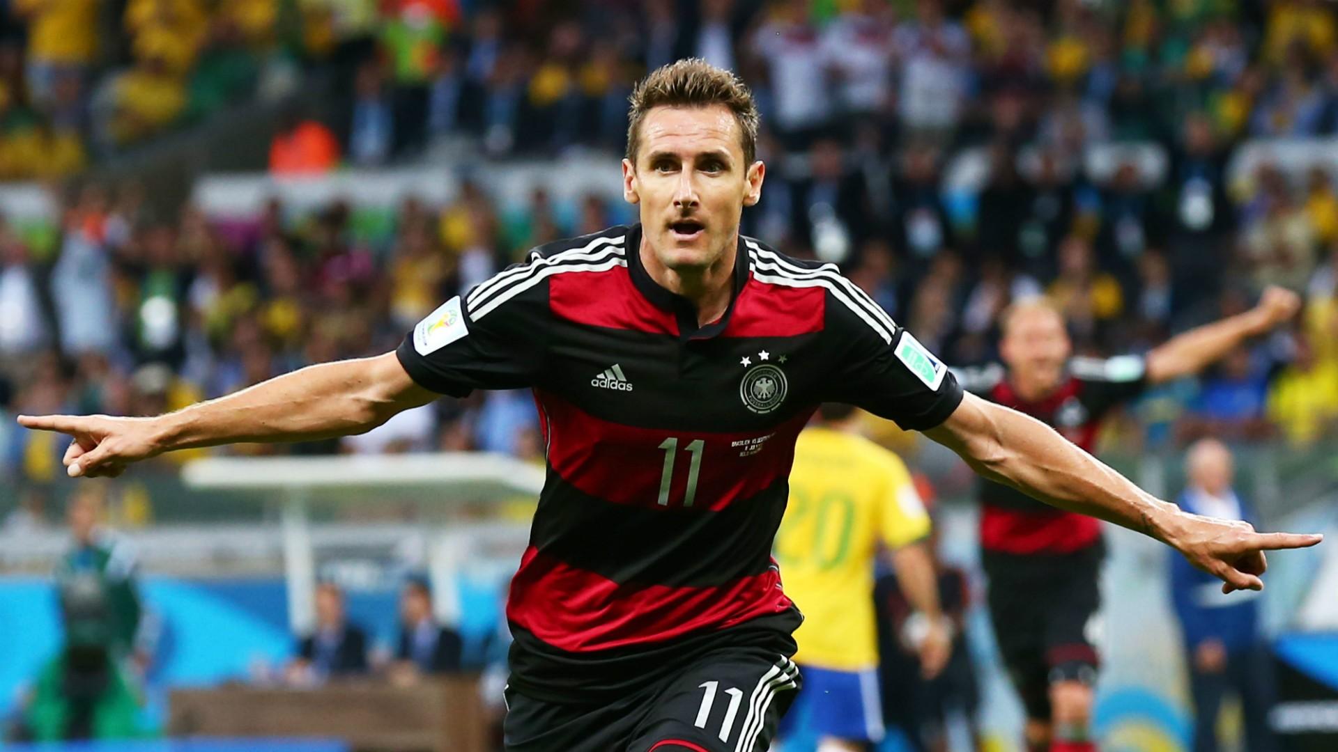 Miroslav Klose Germany Brazil
