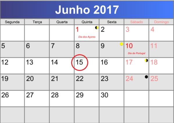 calendario fiscal junho 2017
