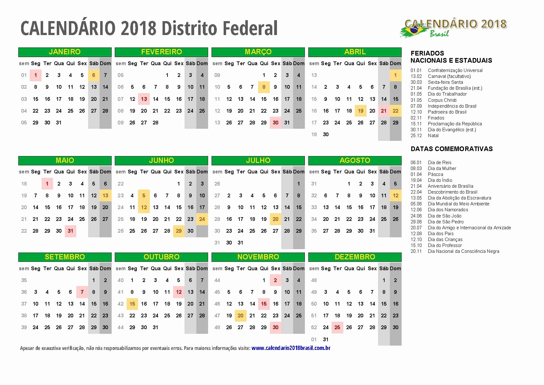 Mundial 2019 Calendario Excel Calendario 2018 Para Imprimir Feriados