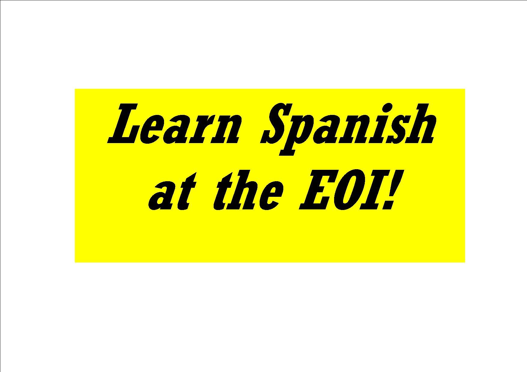Aprende espa±ol en inglés