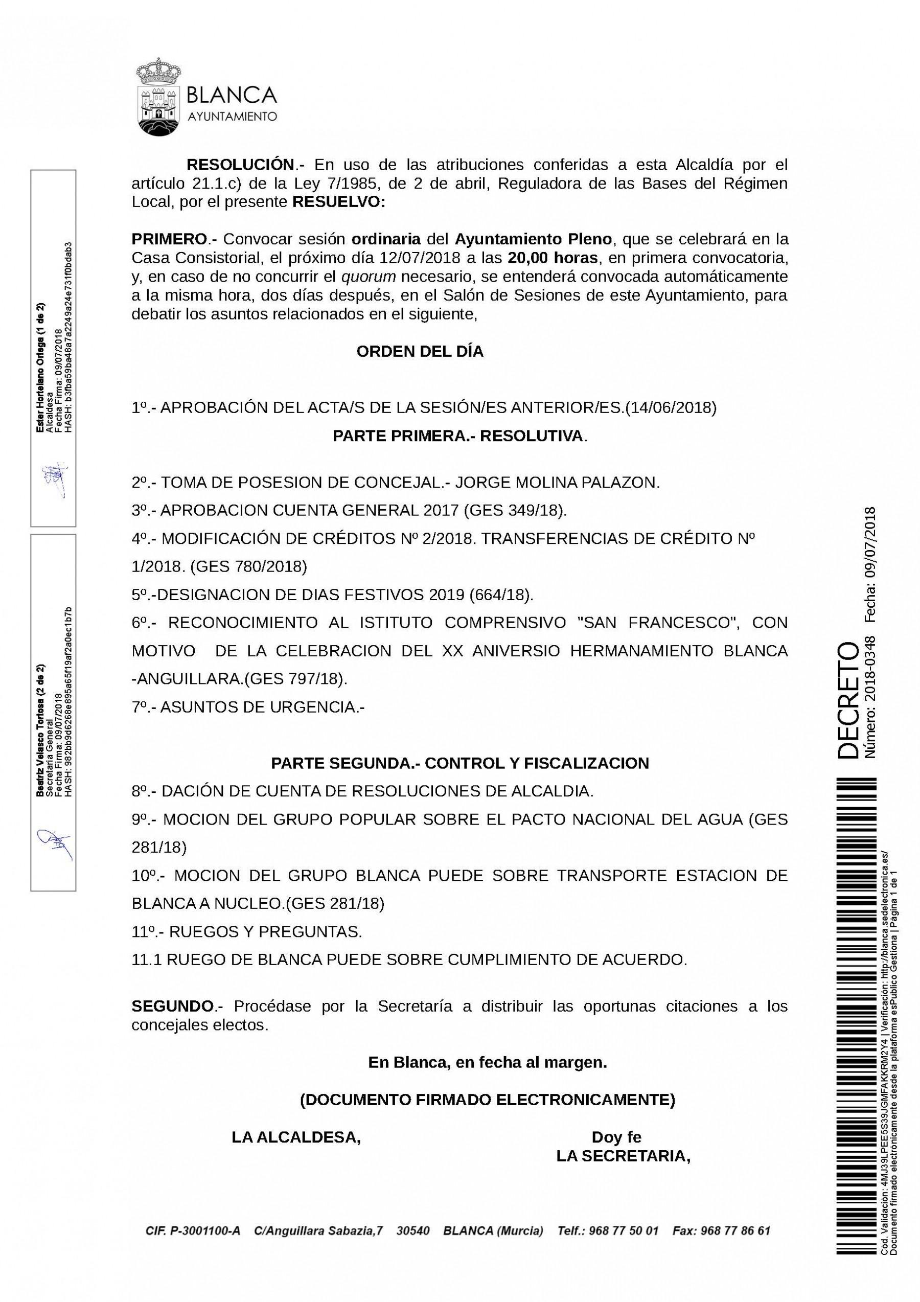 Image de Institucional Archivos Web Municipal Blanca Murcia Ayuntamiento – Festivos Murcia 2016