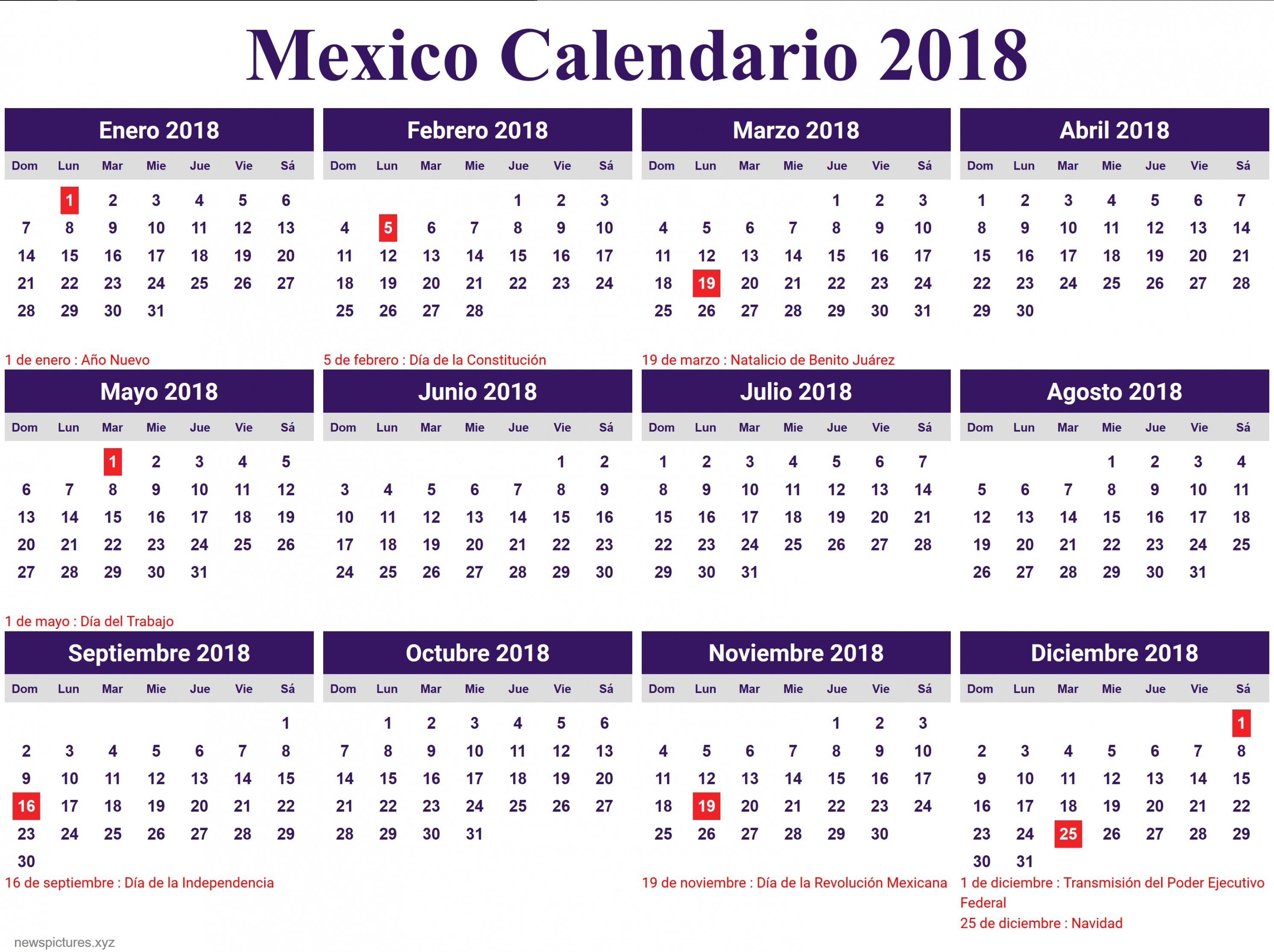 Calendario De Febrero 2017 Peru Más Recientemente Liberado Calendario 2018 Con Festivos — Fiesta De Lamusica Medellin