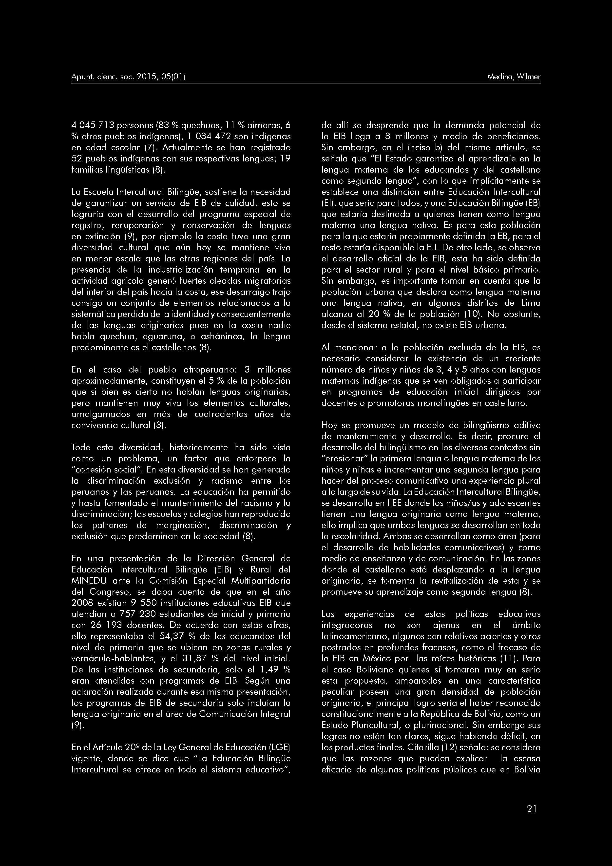 Calendario Escolar 2019 Neuquen Más Recientes Apuntes De Ciencia & sociedad issn X Enero Junio 2015 Volum En 5