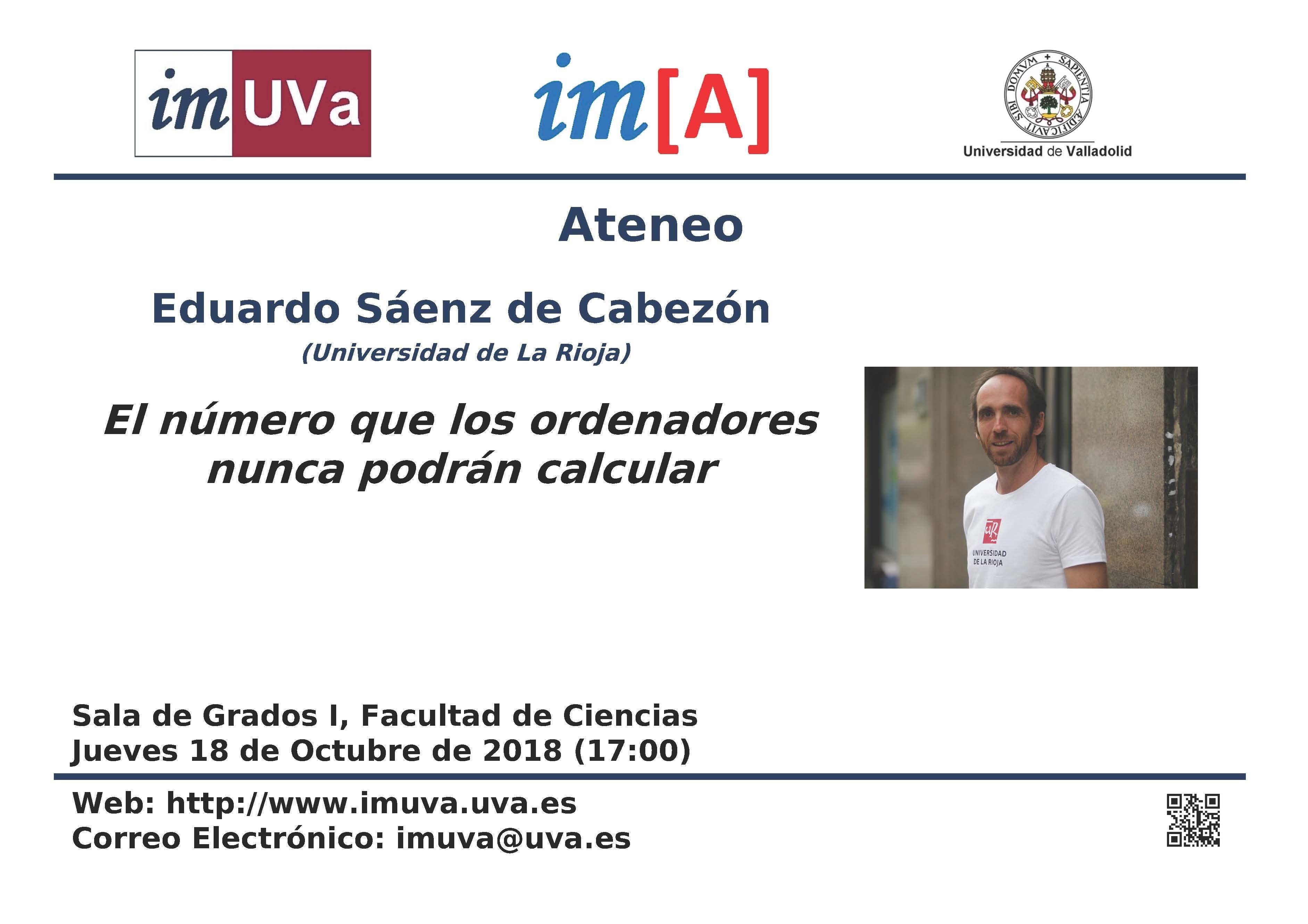 Conferencia en el Ateneo del divulgador Eduardo Sáenz de Cabez³n