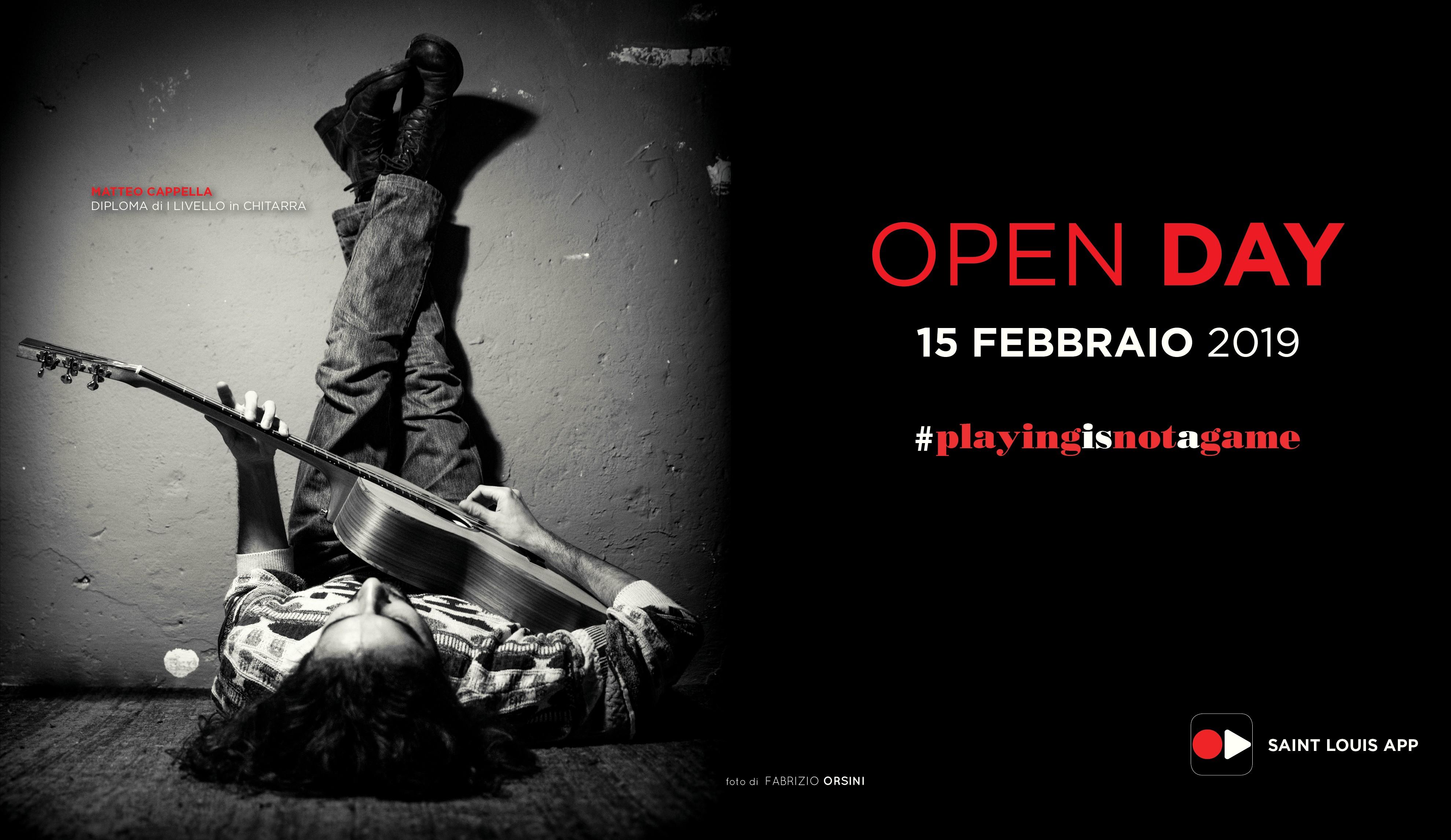 Open Day febbraio 19