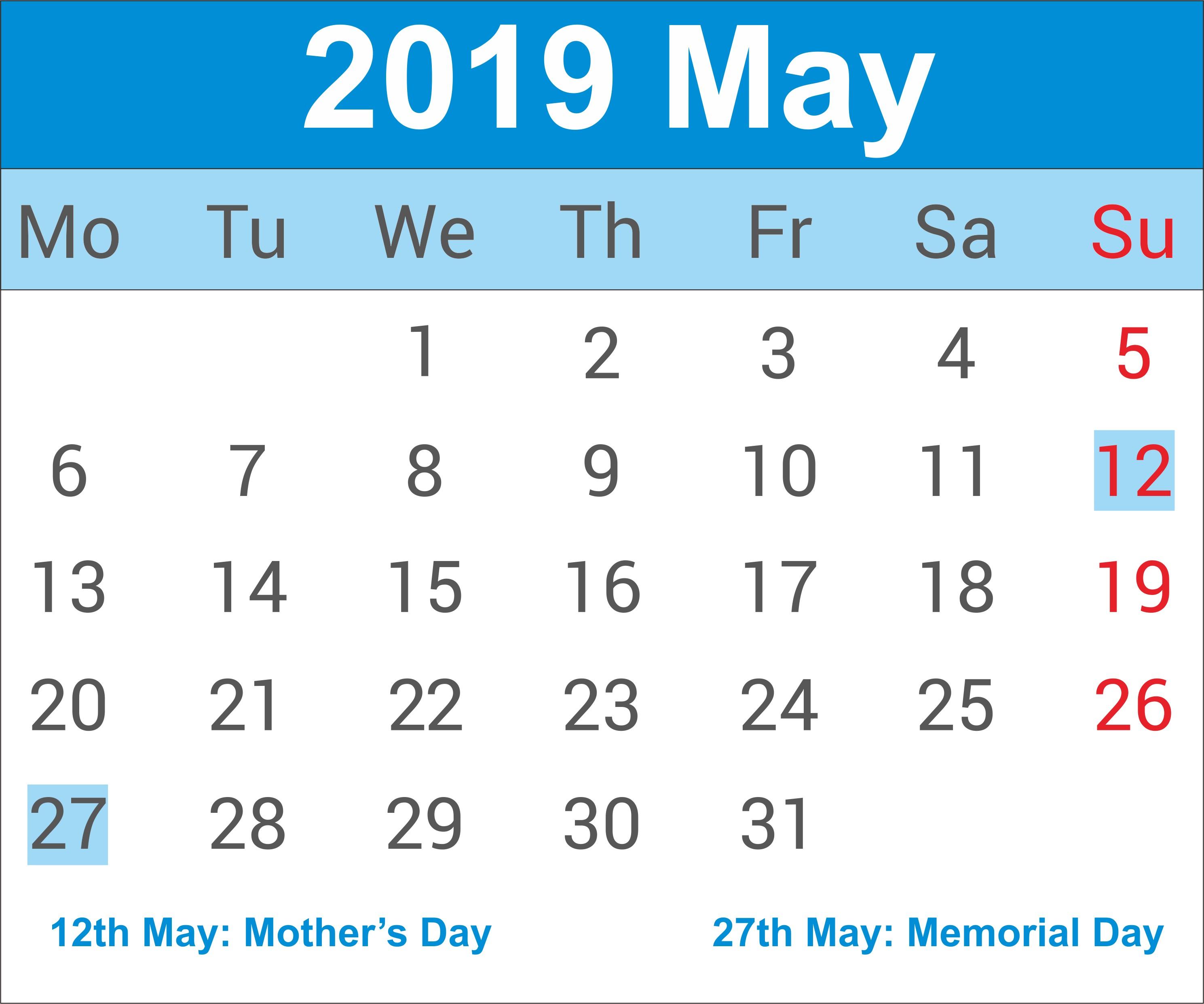 Downloadable Calendar 2019 Excel Más Populares Calendar Word In Malayalam