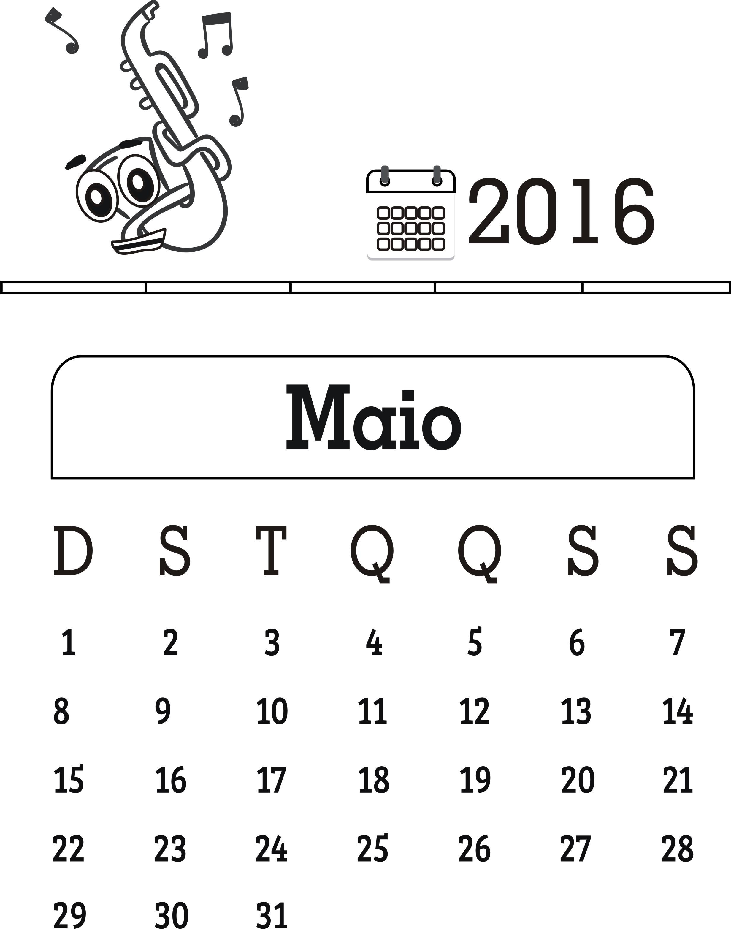 Noticias Imprimir Calendario Maio 2017
