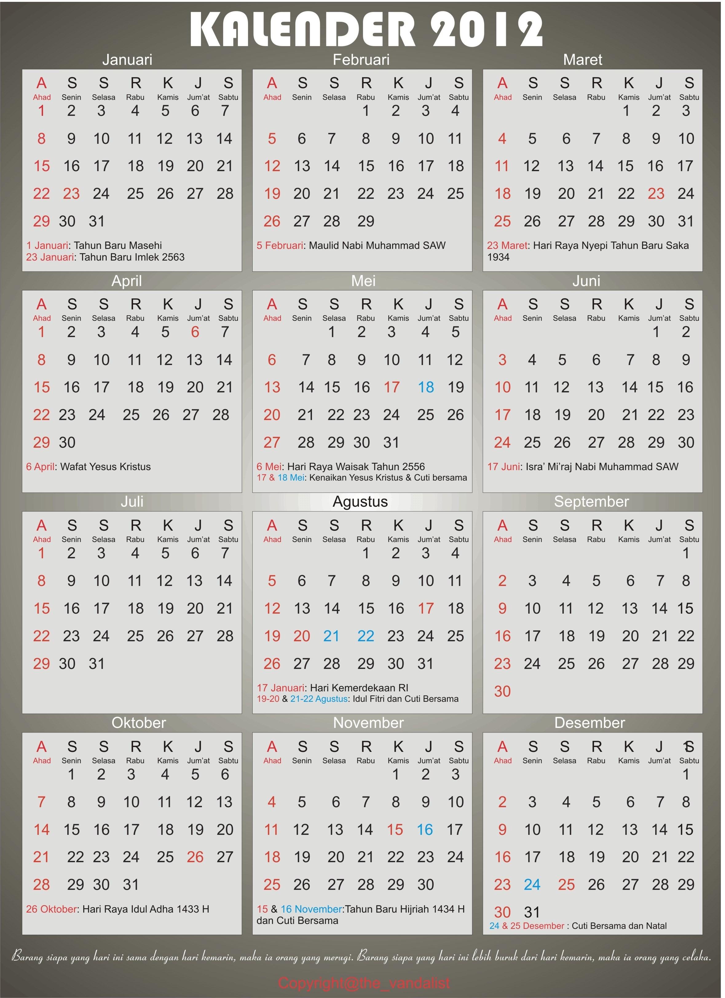 Search Results For Kalender 2015 Indonesia Lengkap Hari Libur Calendar 2015