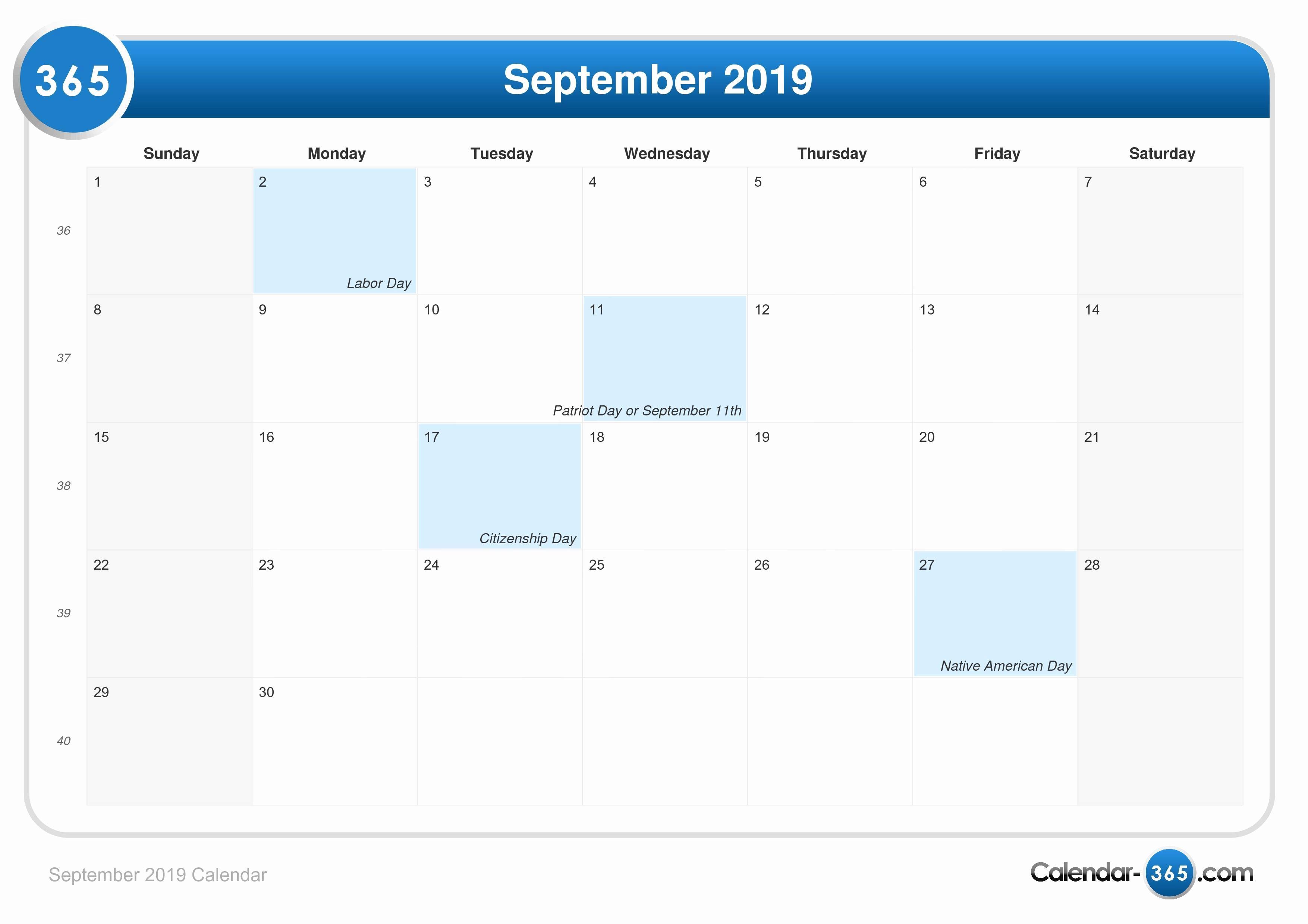 Mahalaxmi Calendars Calendar September 2018 May 2019 September 2019 Calendar With