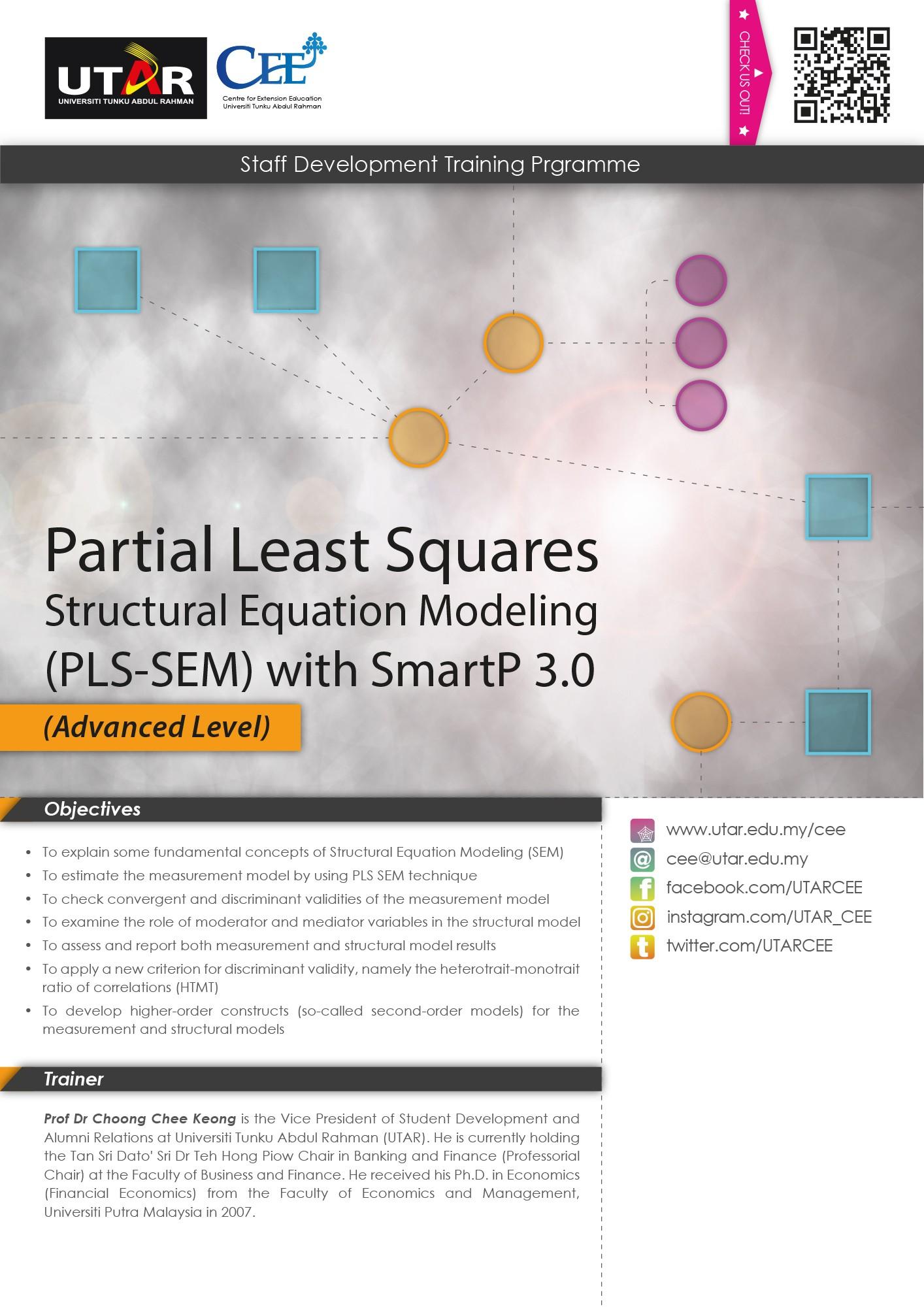 Partial Least Squares Structural Equation Modeling PLS SEM with SmartP 3 0 Advanced Level