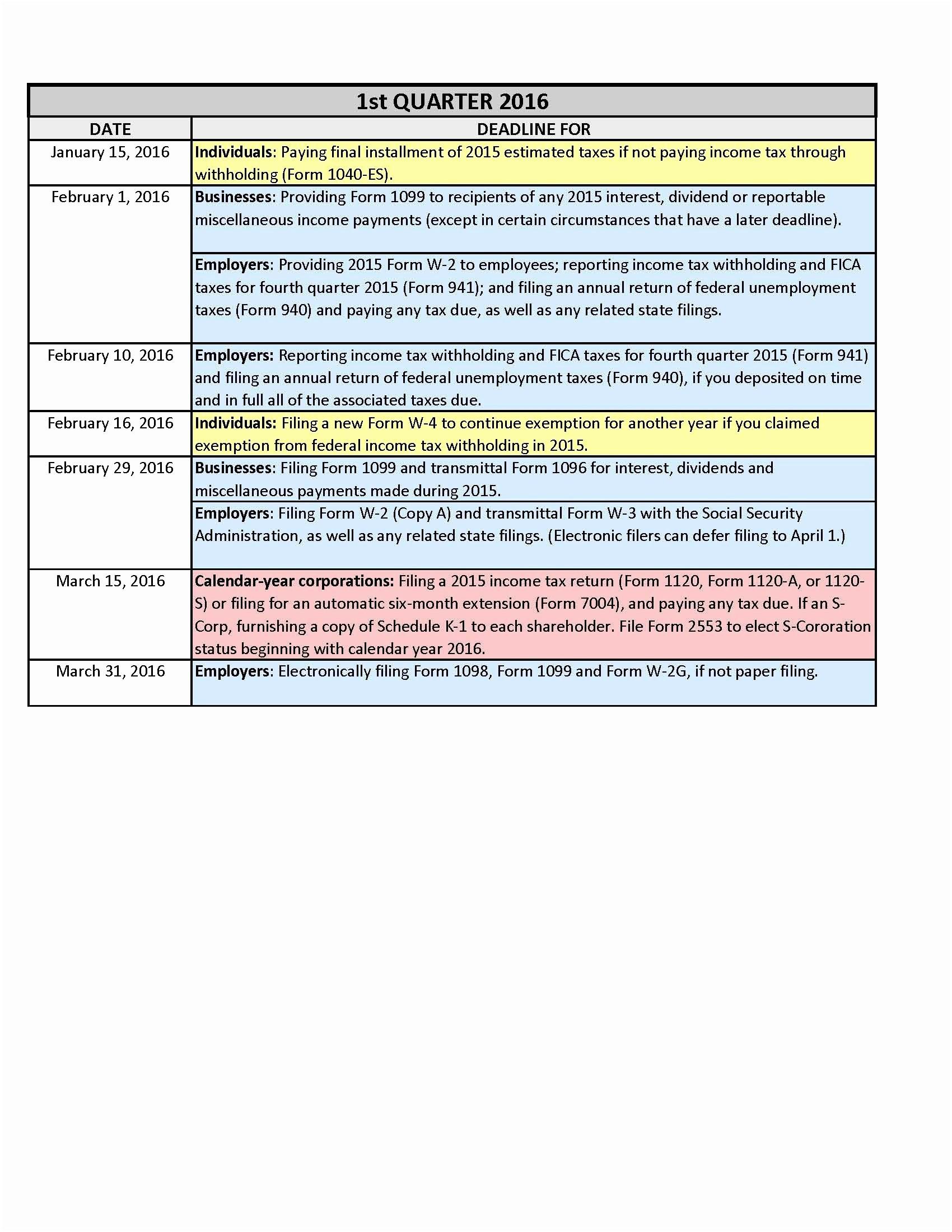 Annual Calendar Template 2014 2015 Printable Calendar Free Printable Tax forms 2016 Luxury Free