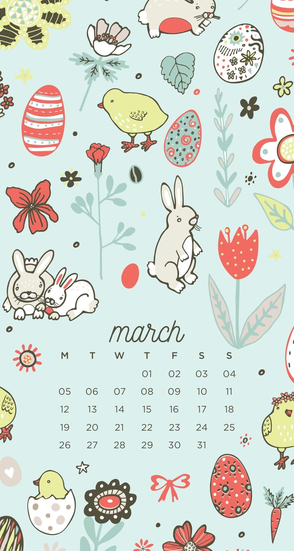March Easter Phone Wallpapers