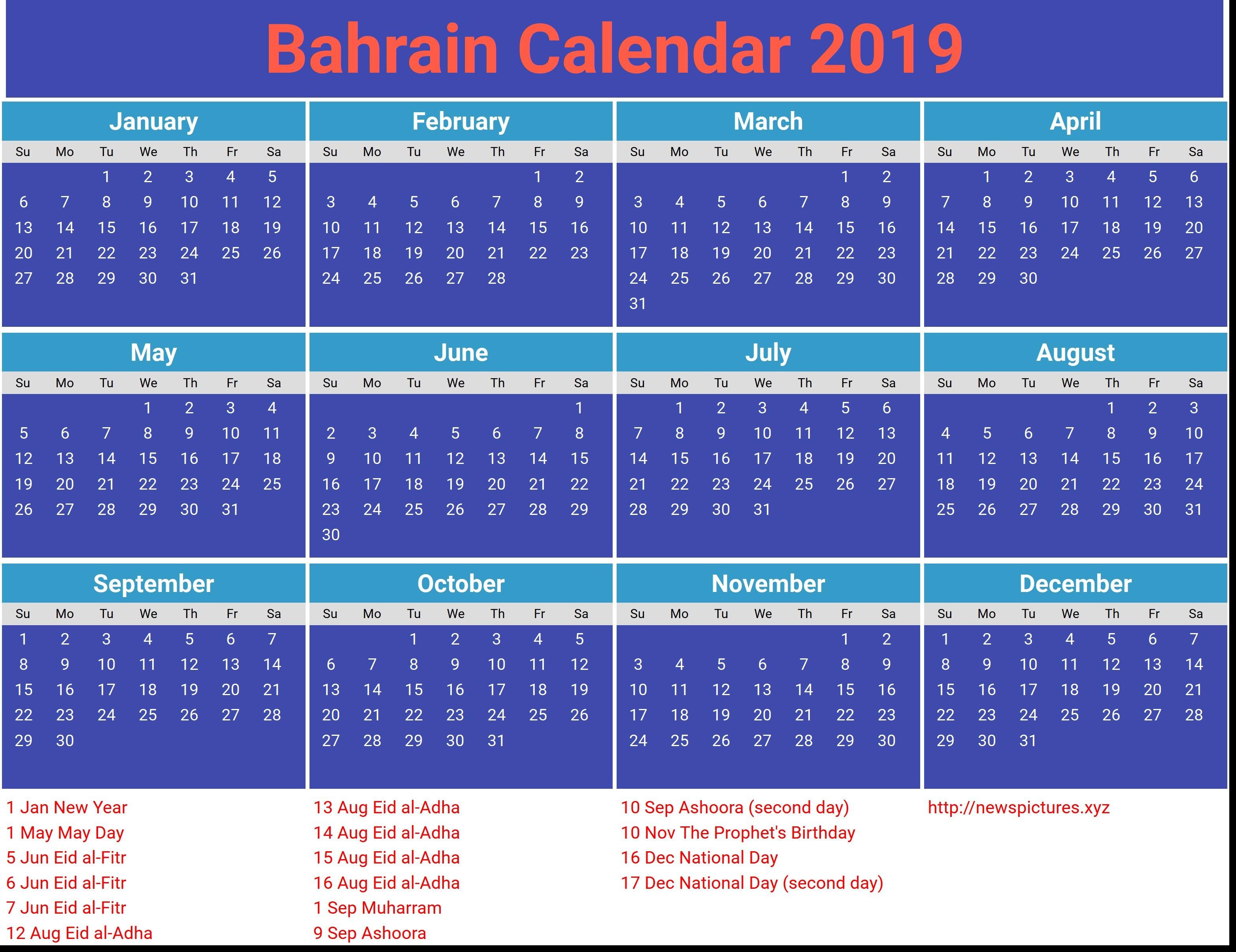 March Calendar 2019 Más Actual School Calendar 2019 Saudi Arabia Awesome Bahrain Calendar 2019 with Of March Calendar 2019 Actual Gujarati Calendar 2019 Printable Printed for No Cost – Calendaro