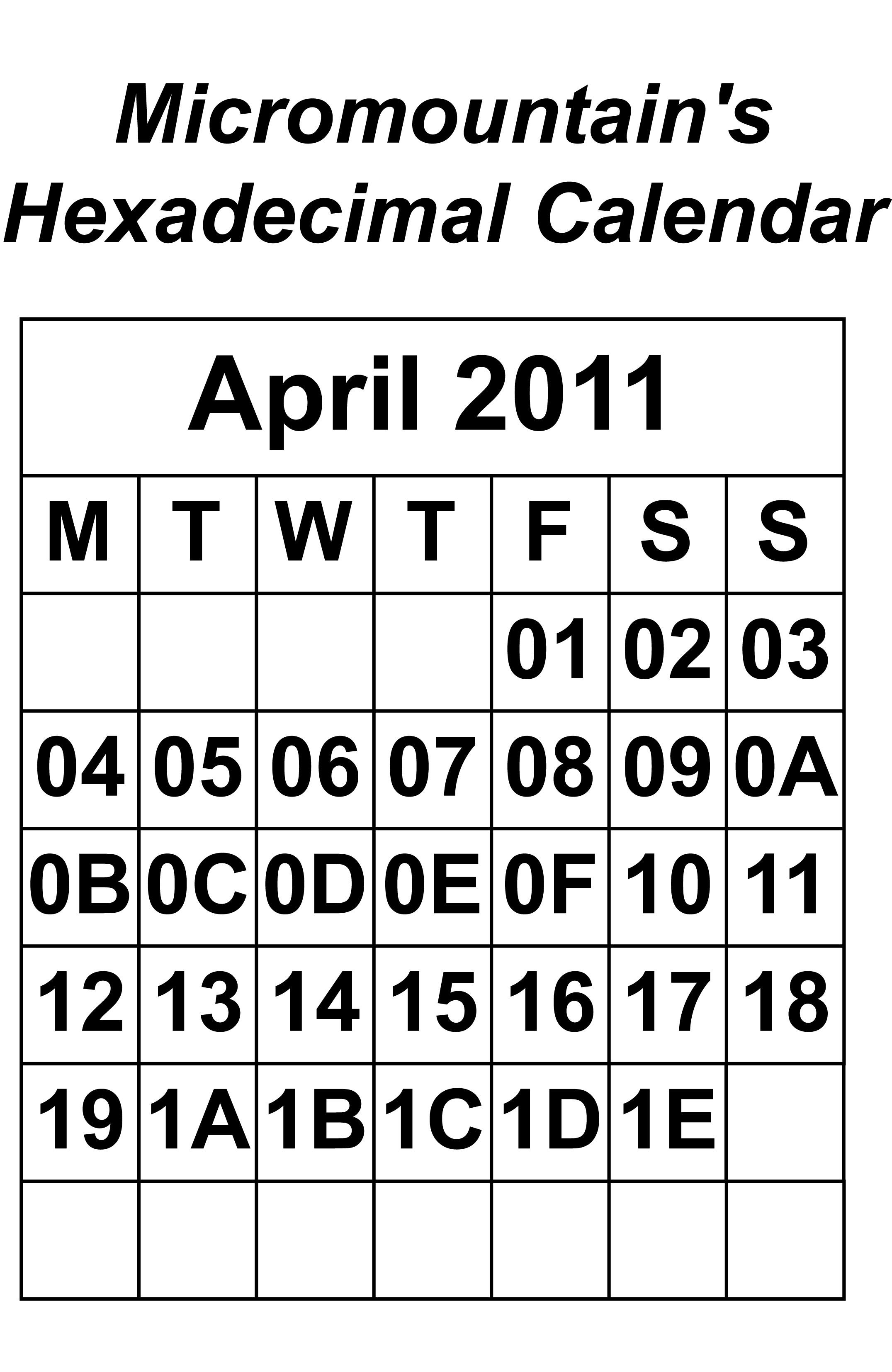 March Calendar Print Out Más Recientemente Liberado Hexadecimal Calendar A4 Of March Calendar Print Out Recientes Monthly Calendar 2015 Template Printable 2016 Calendar Templates