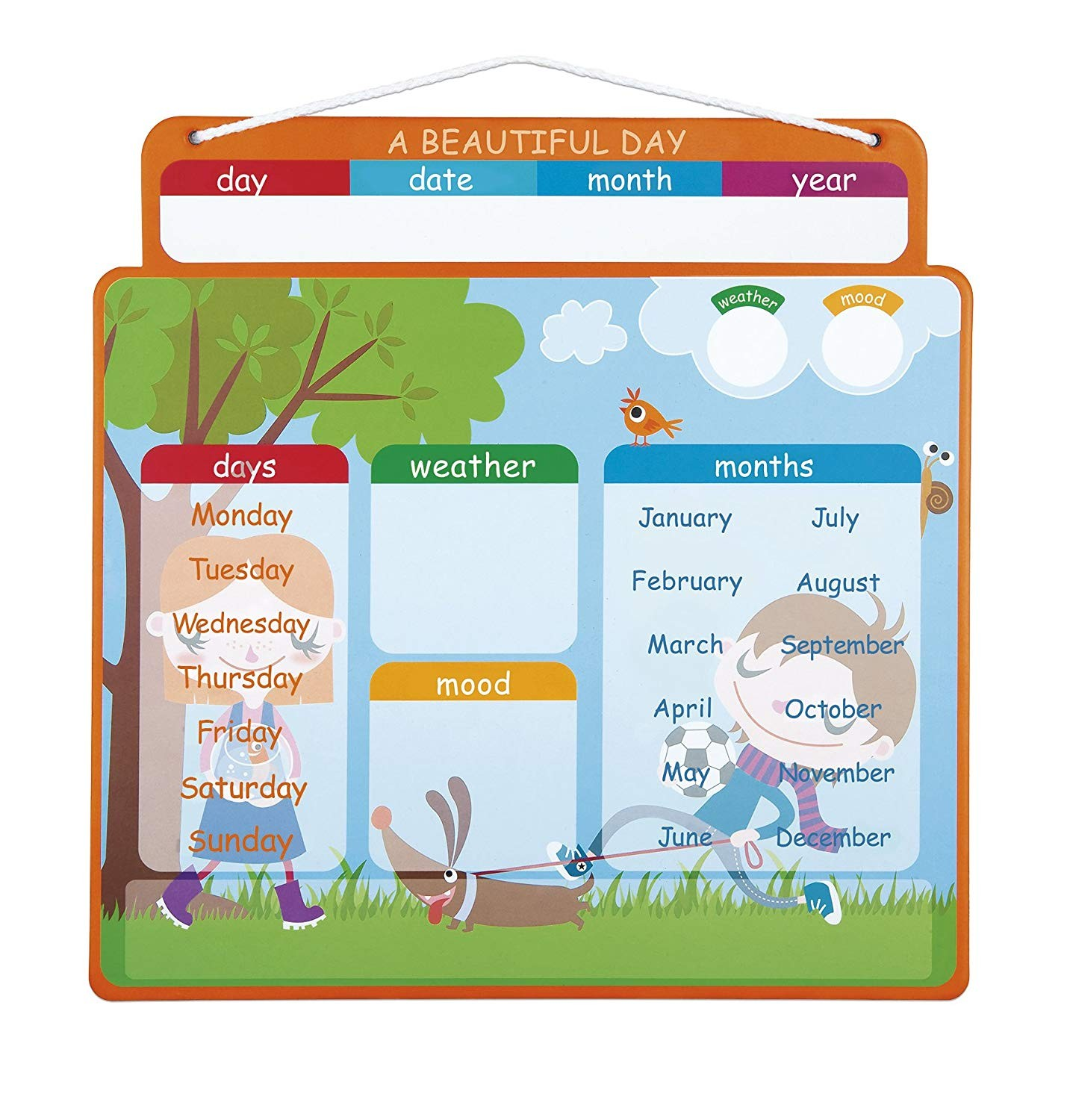 March Reading Month Calendar Activities Más Actual Janod J A Beautiful Day Magnetic Calendar English Version Of March Reading Month Calendar Activities Más Caliente Calendar Of events