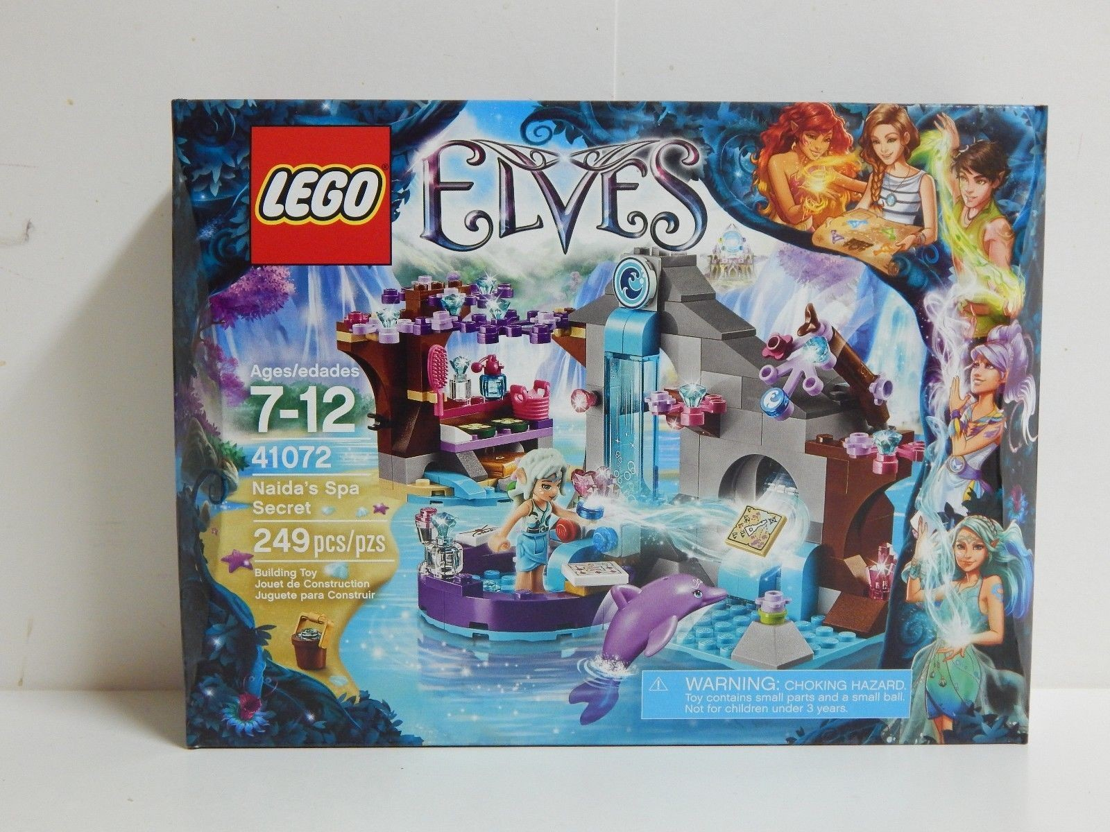 Lego March Calendar Actual Lego Elves Naida S Spa Secret Factory Sealed Retired sold Out Of Lego March Calendar Más Arriba-a-fecha Beautiful Lego Amazon Mike Doyle Books
