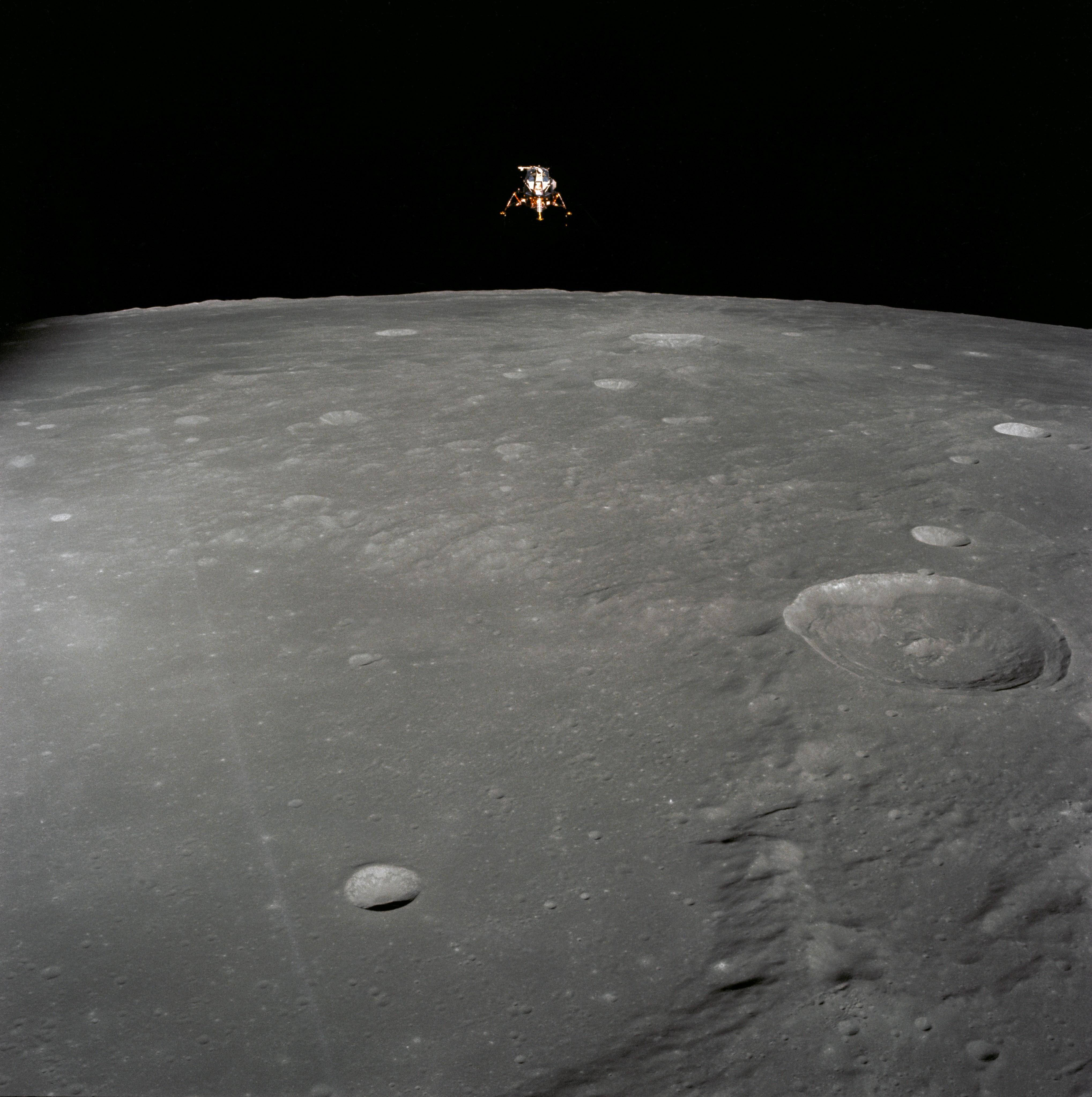 Lunar module AS12 51 7507