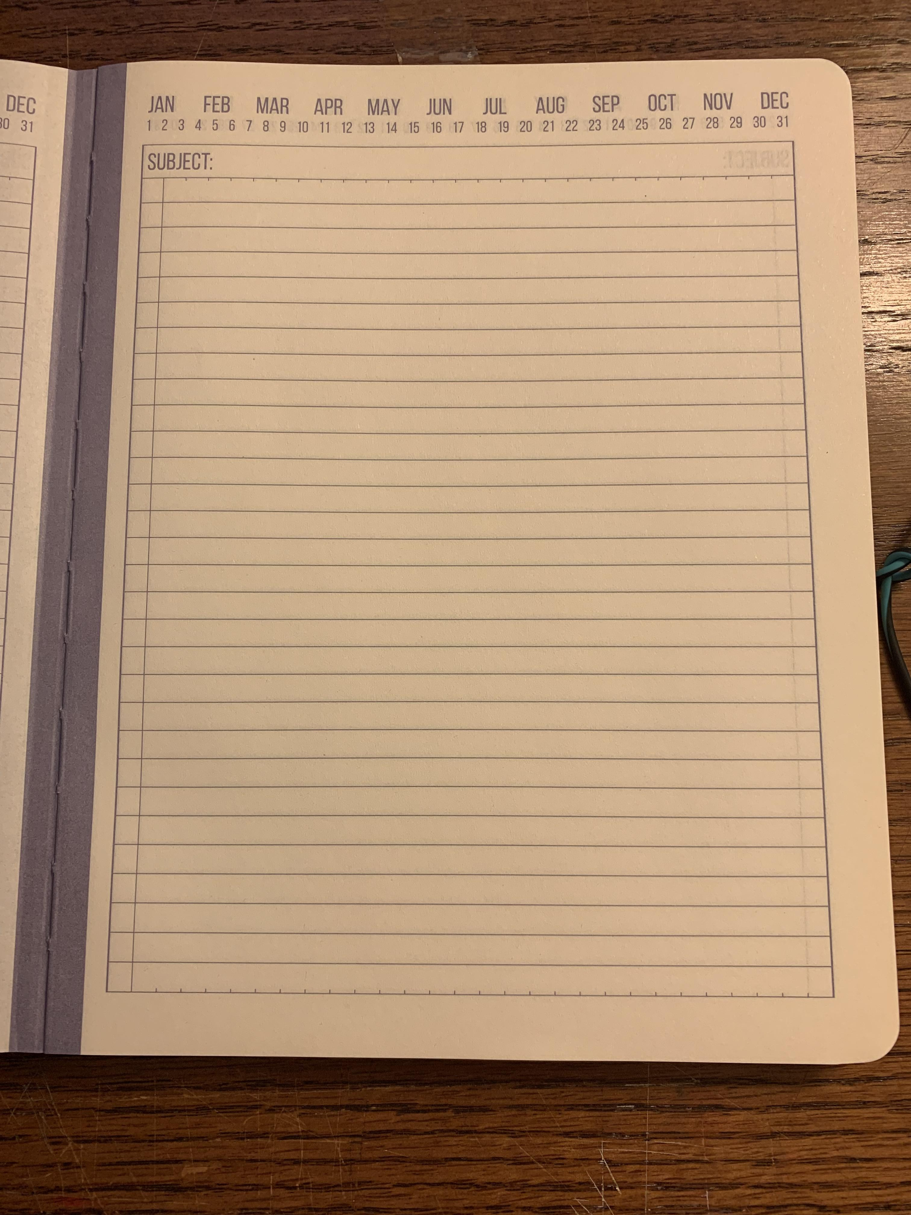 Can I make this journal into a BuJo Question idd