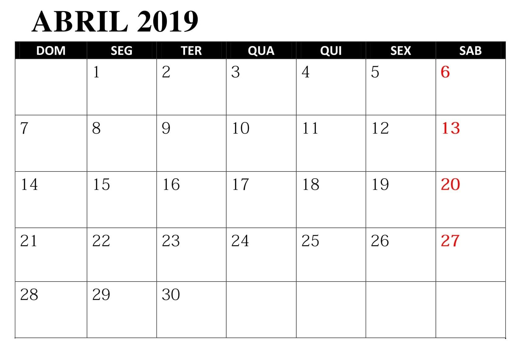 Calendario Escolar 2019 Portugal Más Caliente Calendario Abril 2019 Para Imprimir T Of Calendario Escolar 2019 Portugal Recientes Anahi Anahi9171 On Pinterest
