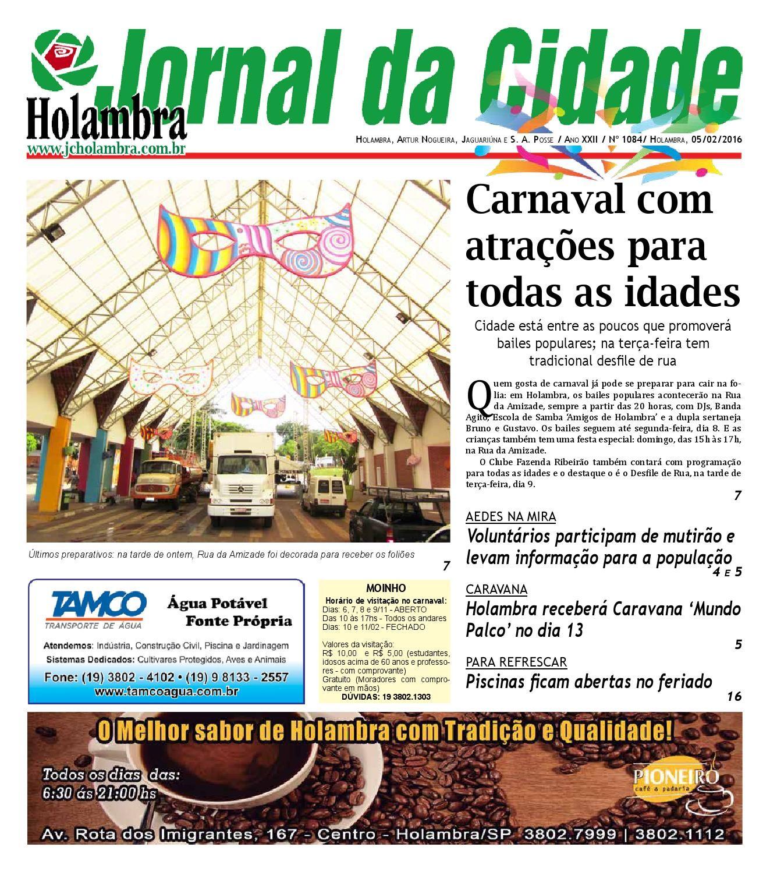 Jornal da Cidade de Holambra Edi§£o 1084 by Jornal Cidade de Holambra e Editora Setembro issuu
