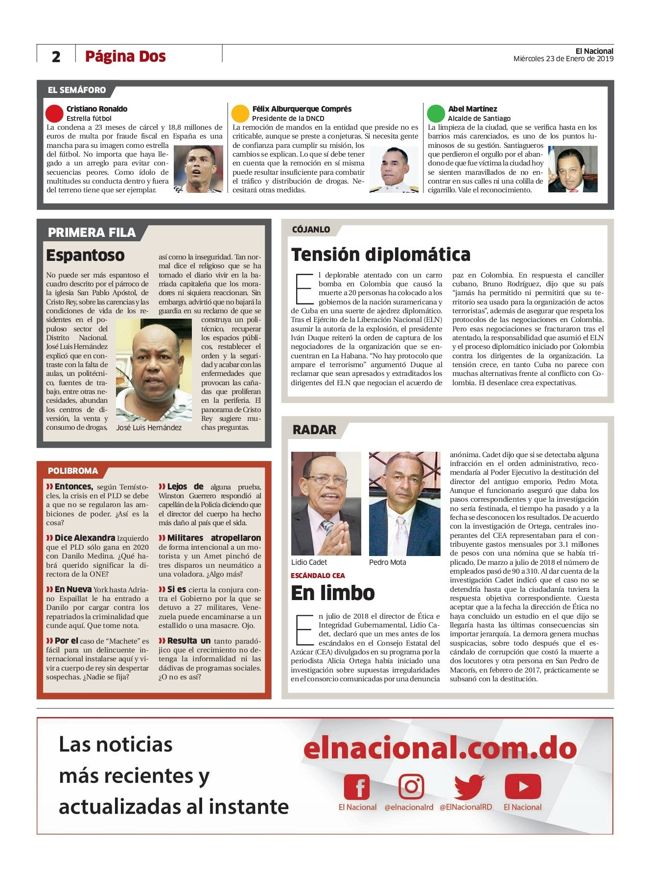 Calendario 2019 Mexico Con Semanas Cotizadas En Más Actual Impreso 23 Ene 19 Pages 1 40 Text Version