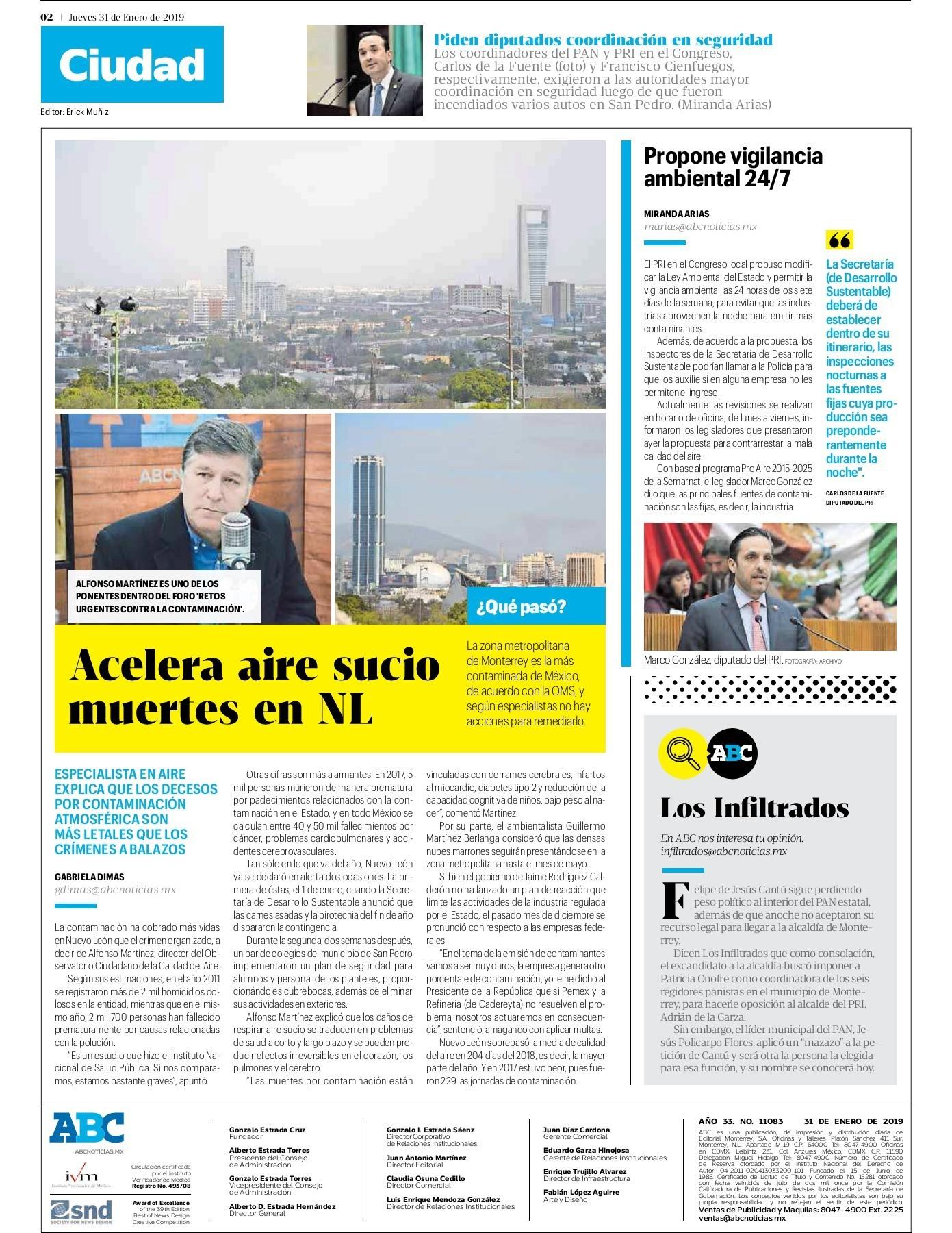 Calendario 2019 Mexico Con Semanas Cotizadas Imss Más Recientes Peri³dico Abc 31 De Enero De 2019 Pages 1 16 Text Version