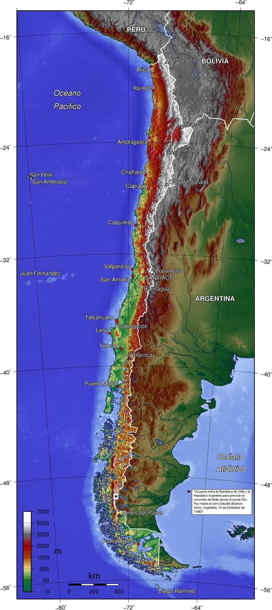 Chile topo es
