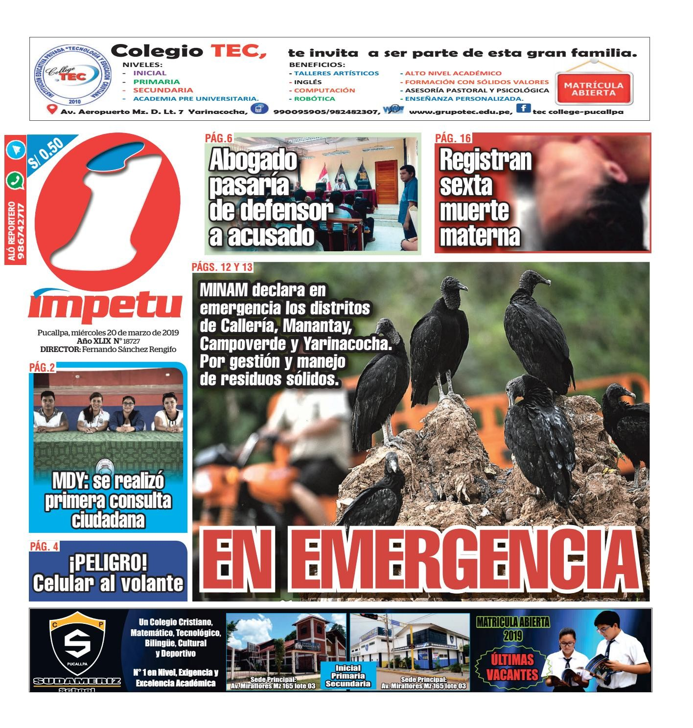 Calendario Anual Laboral 2019 Más Recientemente Liberado mpetu Pucallpa 20 De Marzo De 2019 by Diario mpetu issuu