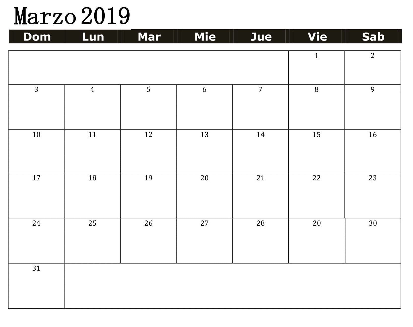 Calendario 2019 Para Imprimir En Chile Actual Calendario Marzo 2019 Modelo Best Reviews 2019 Newletterjdi