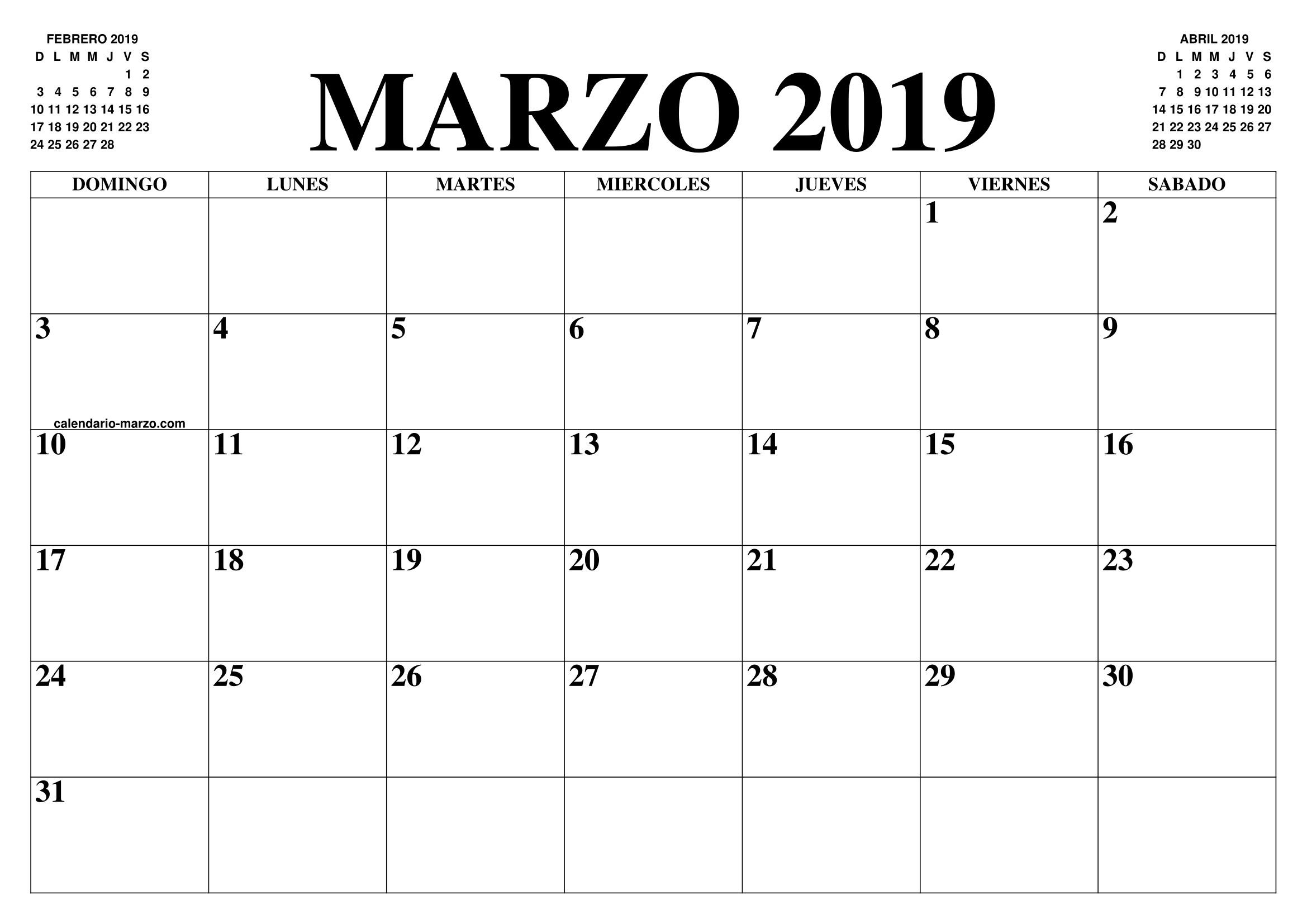 2019 Marzo