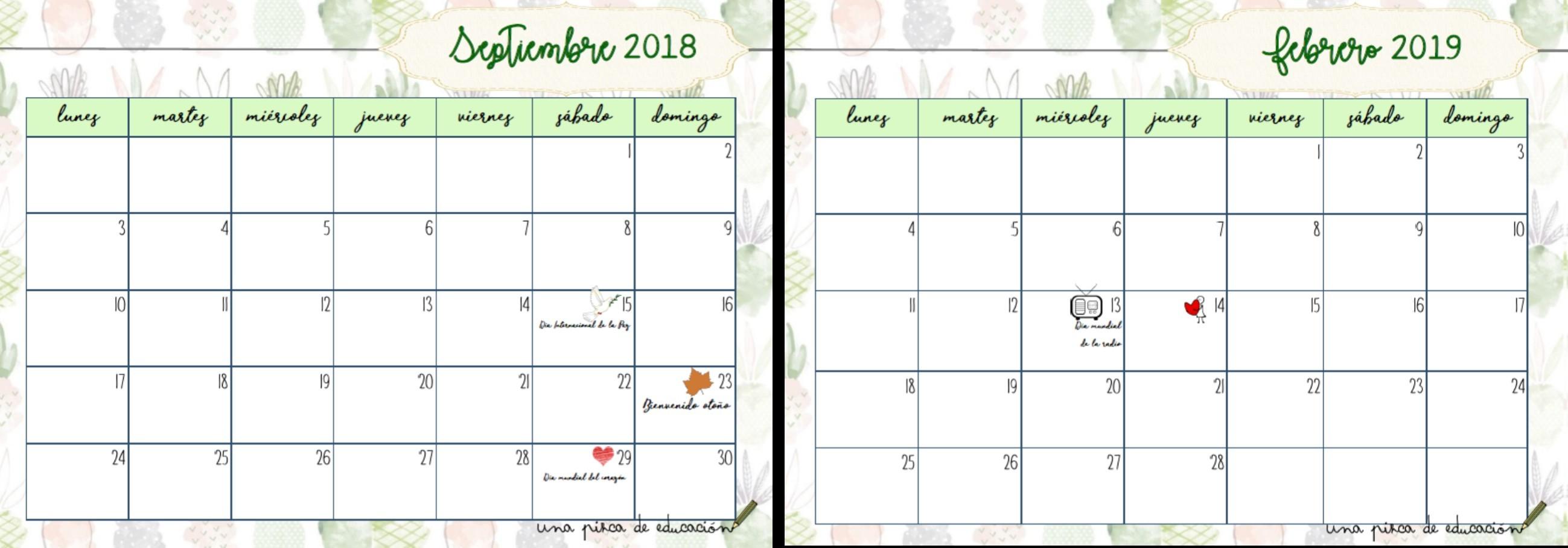 imprimir calendario julio agosto y septiembre 2019 mas recientes calendario para maestros una pizca de educacic2b3n of imprimir calendario julio agosto y septiembre 2019