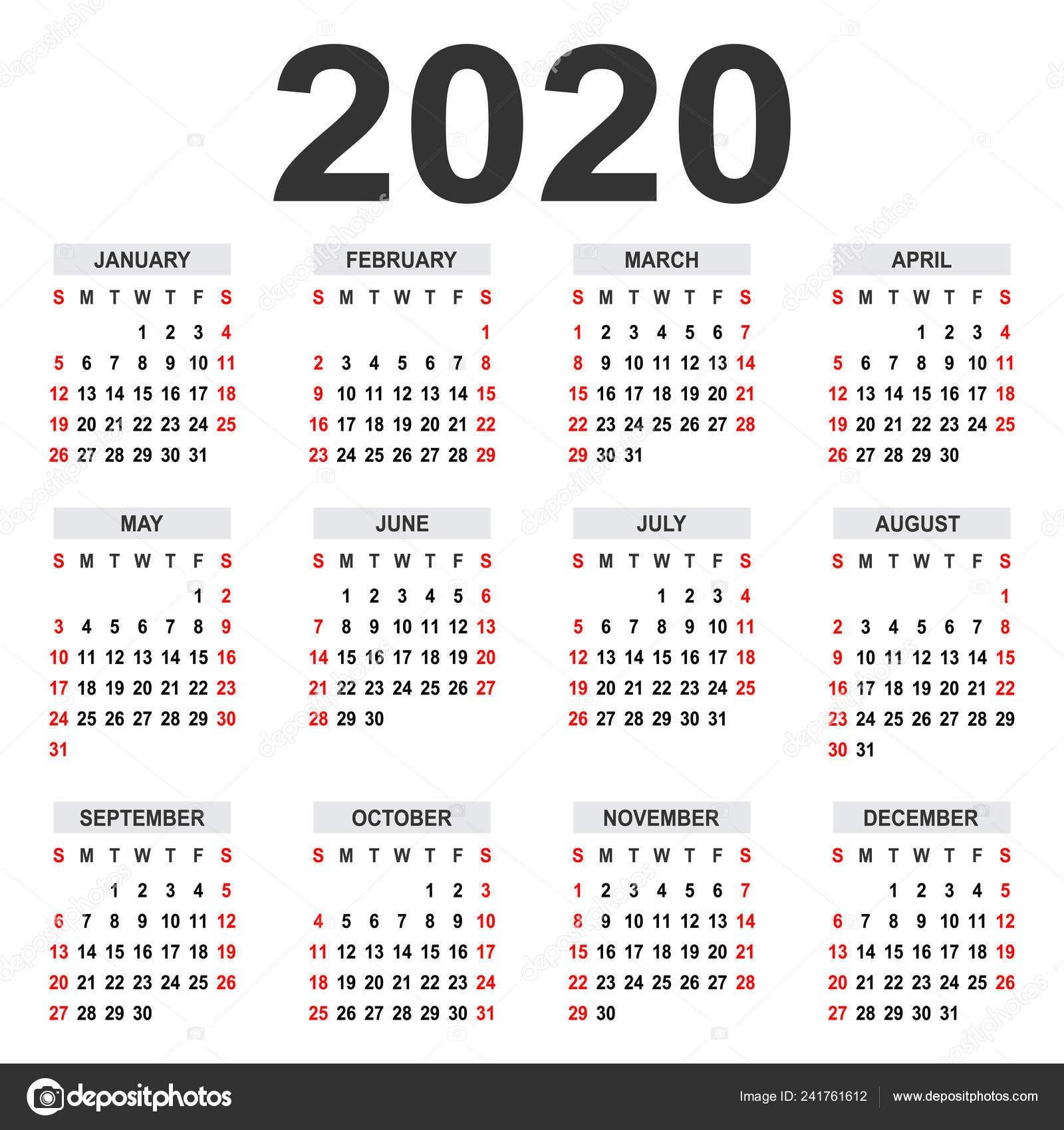Imprimir Calendario 2019 Din A4 Más Actual Calendario 2020 Anual