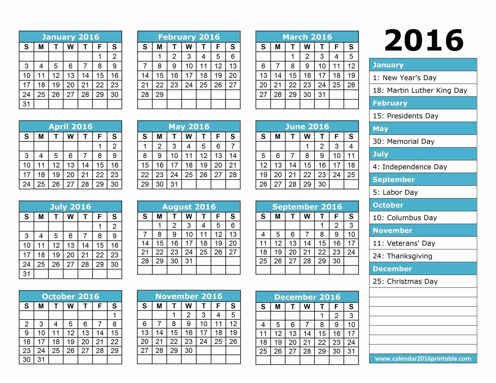 Imprimir Calendario 2019 Infantil Más Populares Calendario 2016 Para Imprimir Bgadv