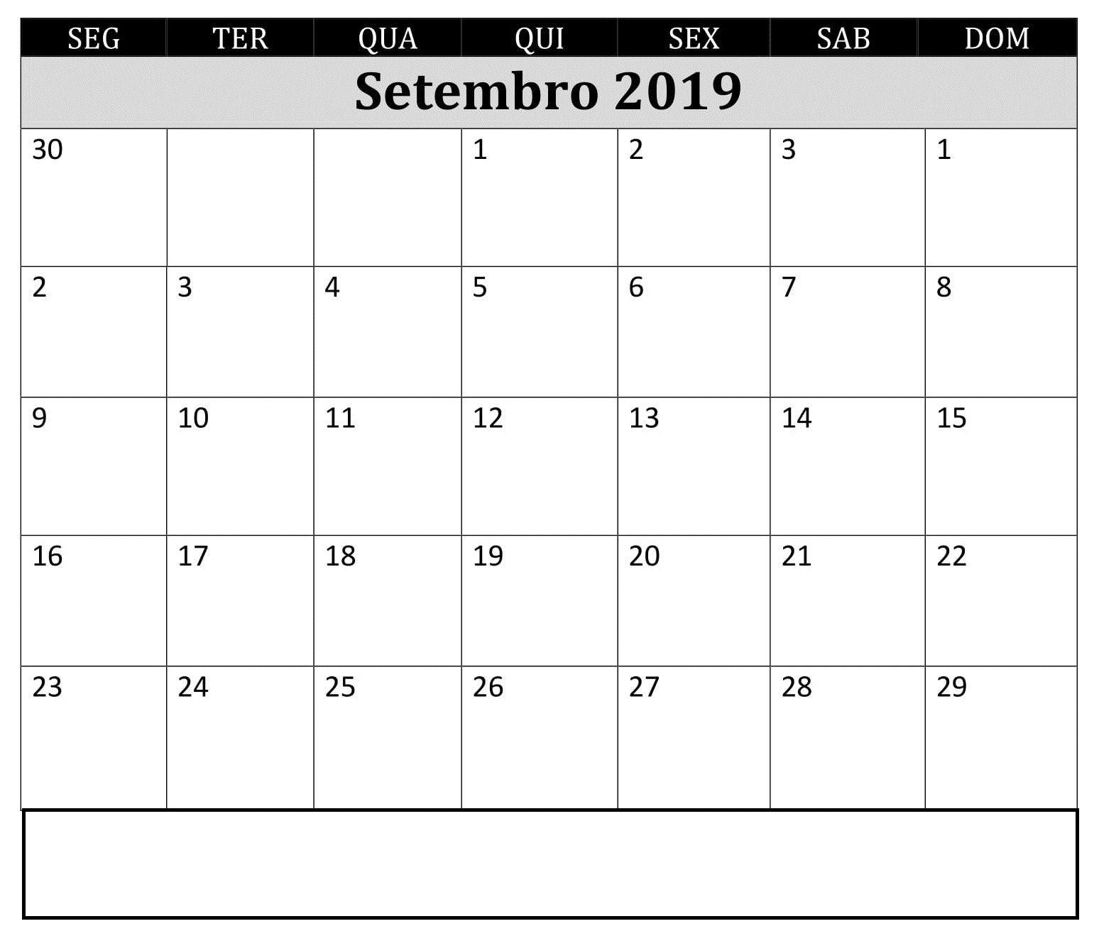 Imprimir Calendario De Marzo 2019 Más Caliente Editavel Calendário Setembro De 2019 Imprimir Of Imprimir Calendario De Marzo 2019 Más Recientes January Calendar 2019 with Holidays January2019 January