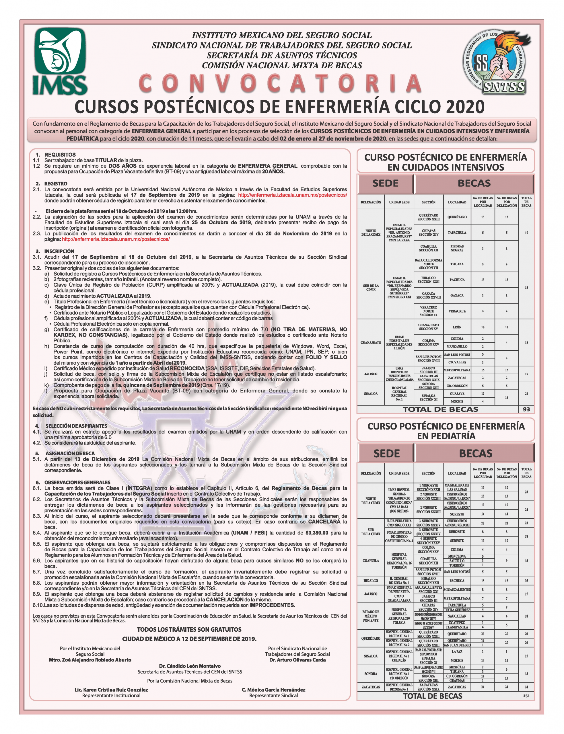 convocatoria curso postecnicos de enfermeria ciclo 2020 f25l image