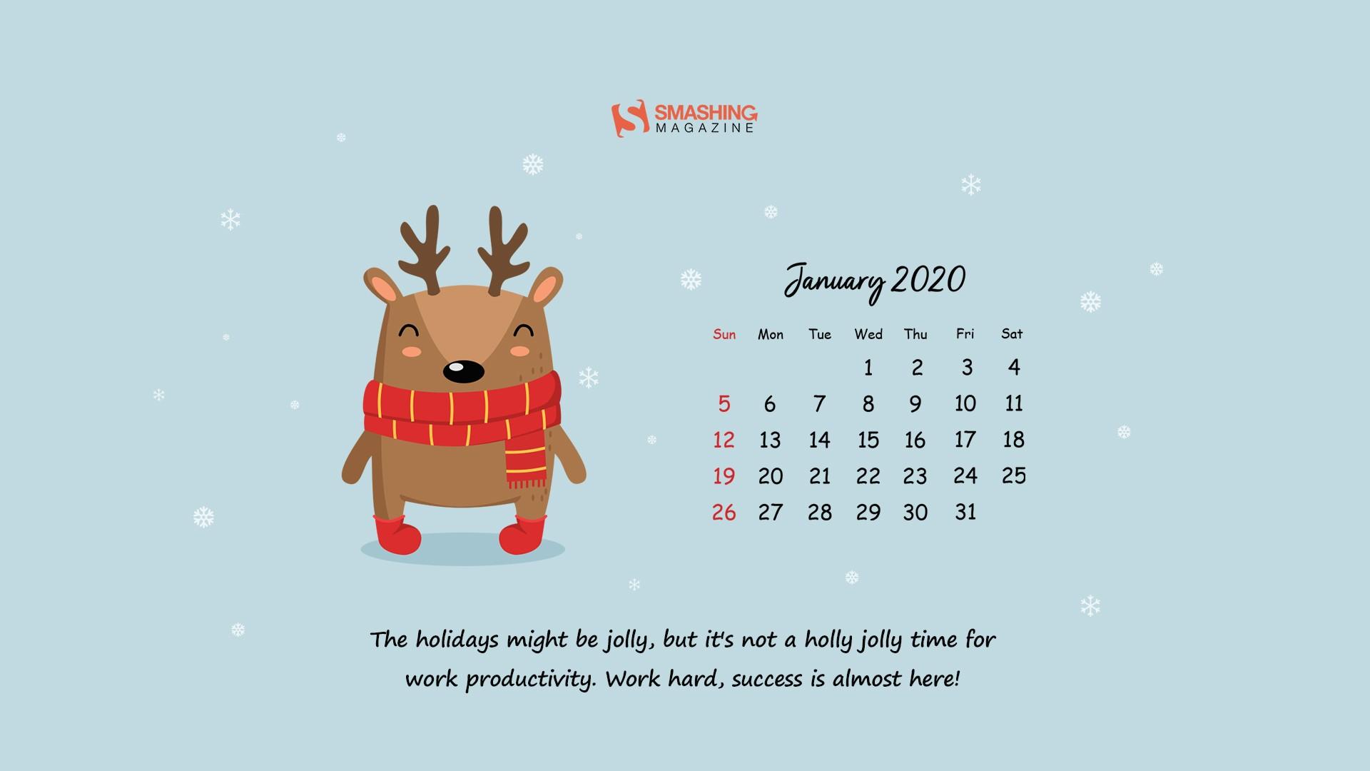 jan 20 new year new beginnings cal