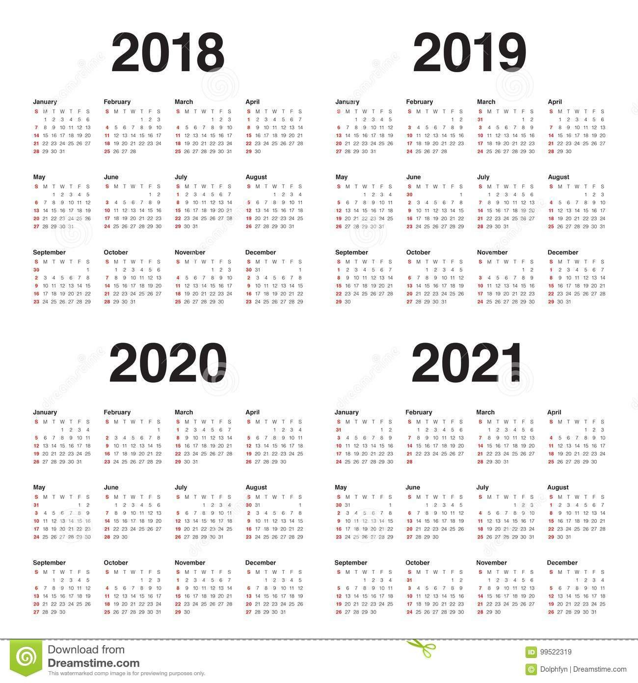 stock illustration year calendar vector year calendar vector design template simple clean design image