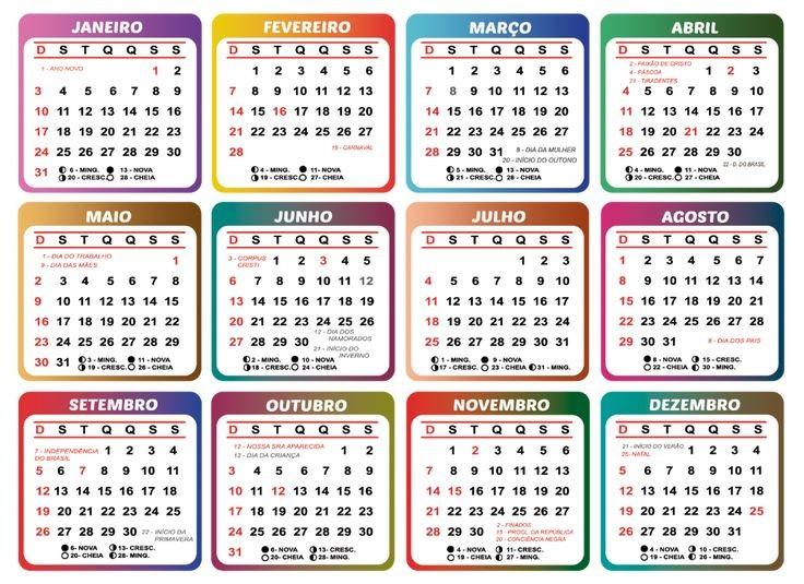 Calendario 2021 Trackid=sp-006 Más Recientes Gabarito De Calendário 2021 Para Tema Infantil