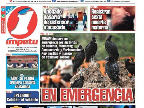 Calendario 5 Junio 2021 Mejores Y Más Novedosos mpetu Pucallpa 20 De Marzo De 2019 by Diario mpetu issuu