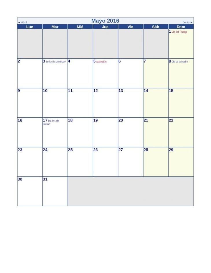calendario 2016 con feriados de peru web viewoctubre 2016 noviembre lun mar