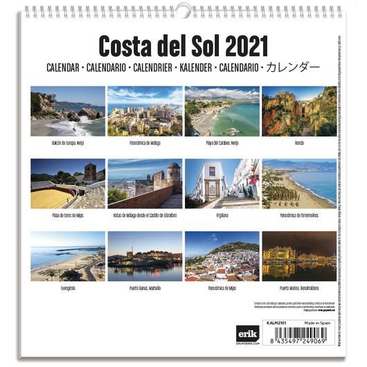 Calendario 2021 Tenerife Más Recientes Calendario Turistico Mediano 2021 Costa Del sol Grupo Erik