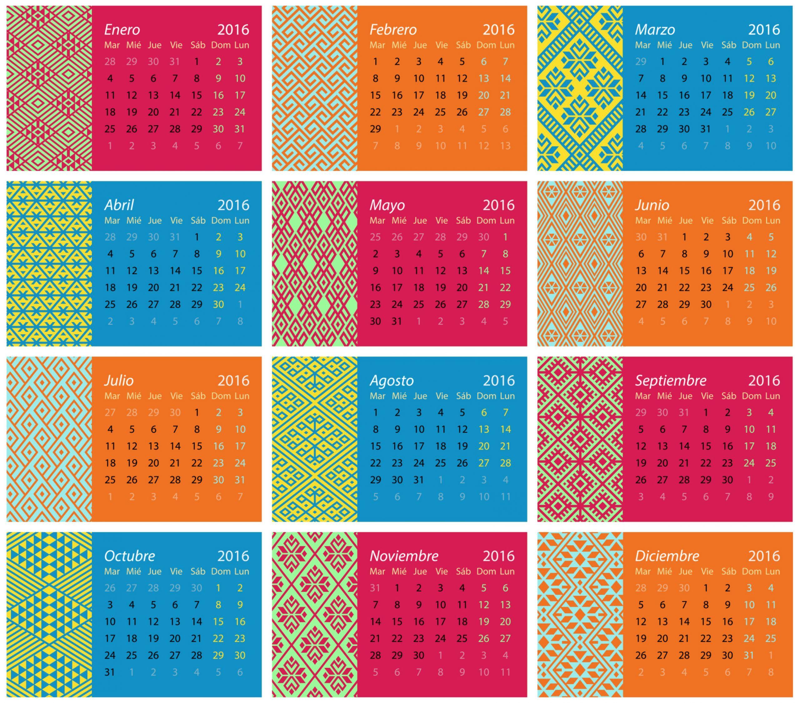 calendario 2016 2 3