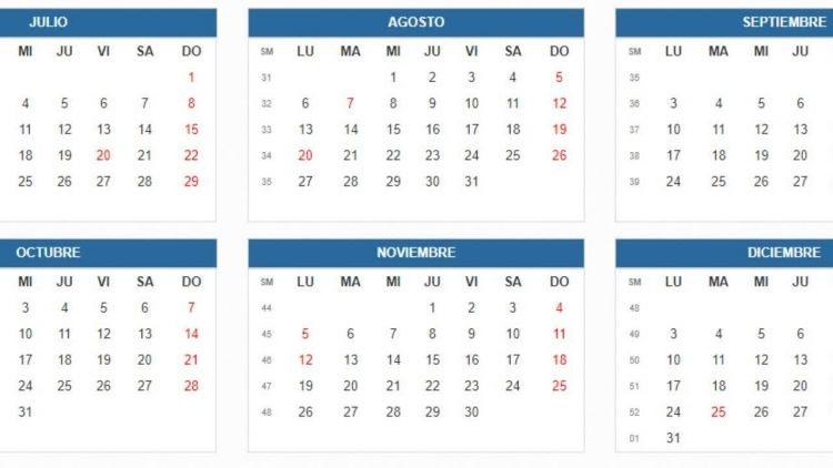 Calendario Junio 2018 Con Festivos Actual Colombia Calendario Festivos 2018