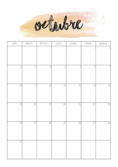 Calendario Octubre 2018 Imprimir Actual Aunque En Madrid No Lo Parezca Por El Buen Tiempo Que