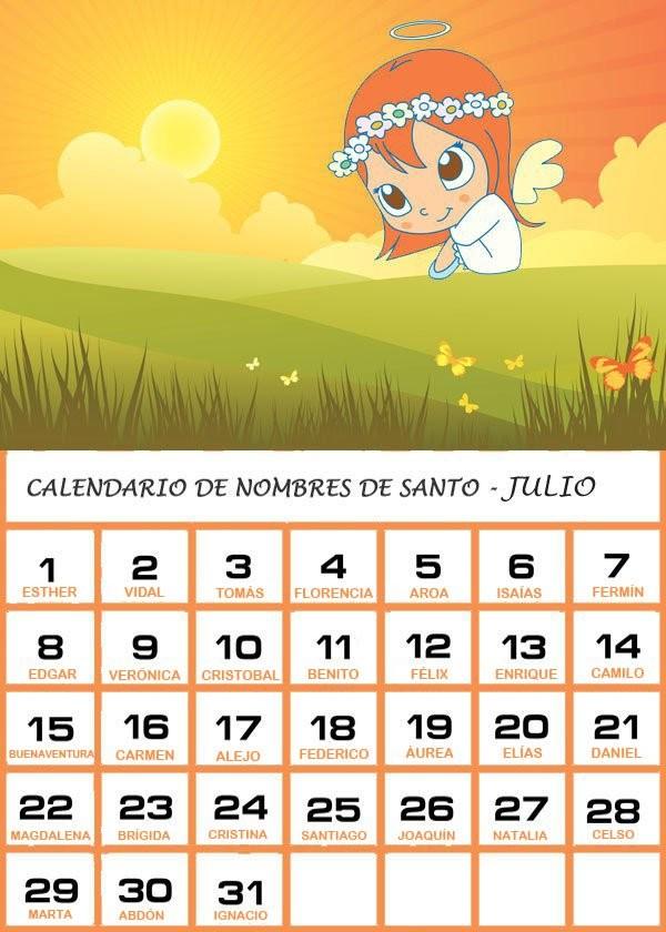 calendario de nombres de santo junio 2018 2