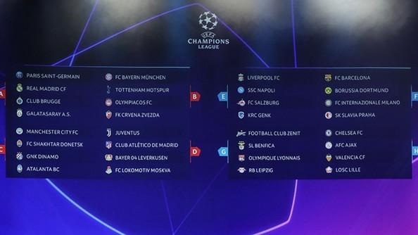 champions league 2019 2020 calendario pleto torneo europeo n