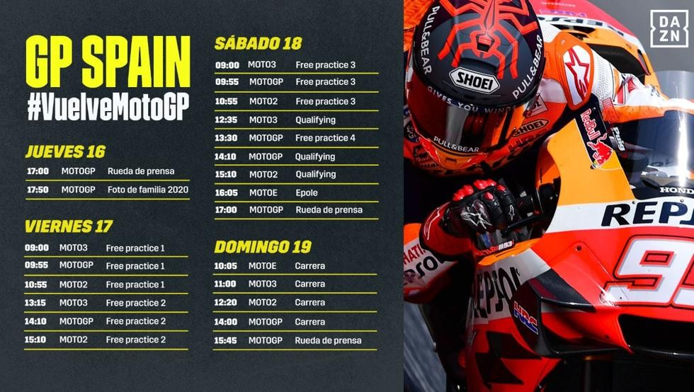 aqui tienes el calendario de moto gp
