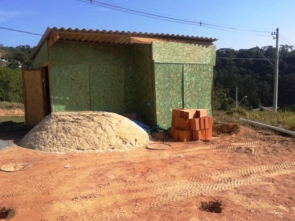 Obra Más Recientes Foto Barracão De Obra De Tetraktys Construção Civil